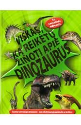 Viskas, ką reikėtų žinoti apie dinozauru..