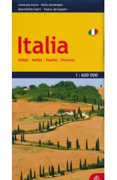 Italija. Kelių žemėlapis M 1: 600 000