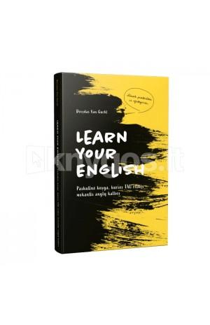 Learn your english: paskutinė knyga, kurios tau reikės mokantis anglų kalbos