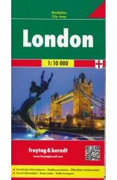 Londonas. Miesto planas M 1: 10 000