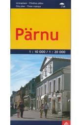 Parnu miesto žemėlapis 1 : 20 000