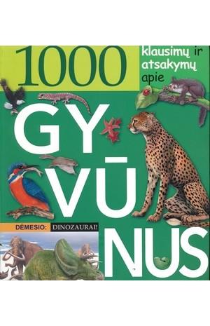 1000 klausimų ir atsakymų ir atsakymų apie gyvūnus