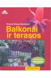 Balkonai ir terasos