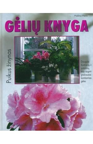 Gėlių knyga_ su viršelio defektu