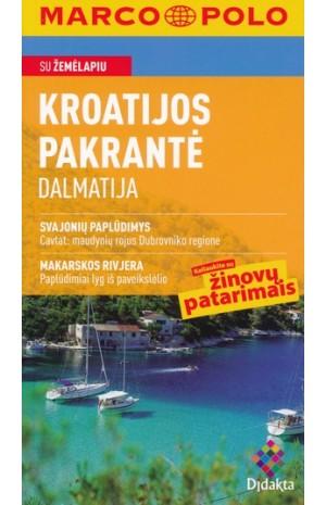 Kroatijos pakrantė Dalmatija