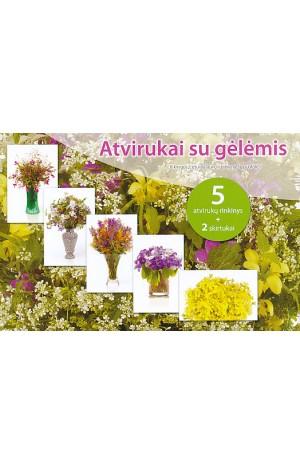 Atvirukai su gėlėmis (Gelt.)