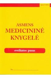 Asmens medicininė knygelė