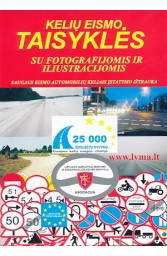 Kelių eismo taisyklės su fotografijomis ir iliustracijomis
