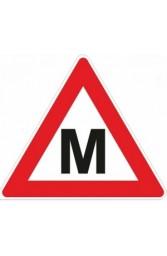 """Lipdukas """"M"""" ženklas"""