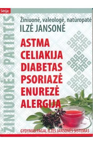 Astma, celiakija, diabetas, psoriazė, enurezė, alergija