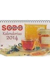 "Kalendorius "" Sodo spalvos"" 2014 m."