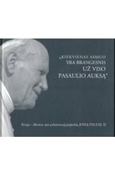 Knyga - albumas apie palaimintąjį popiežių Joną Paulių II
