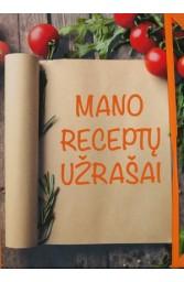 Mano receptų užrašai