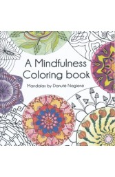 A Mindfulness coloring book of Mandala