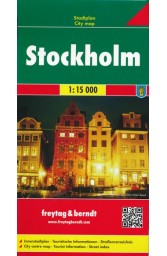 Stokholmas. Miesto planas M 1: 15 000