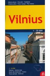 Vilnius. Miesto planas. M 1:25 000